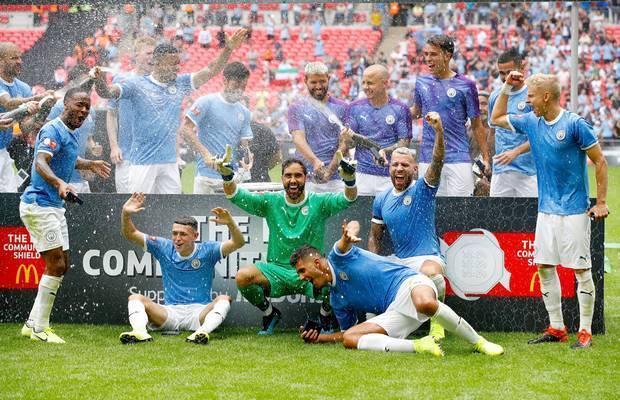 Man City Menjadi Juara Community Shield Usai Tumbangkan Liverpool