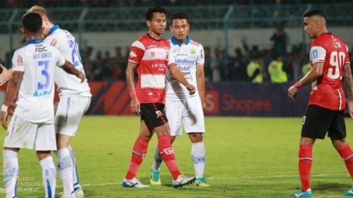 Laga Madura United vs Persib Sampai Ke Satgas Antimafia Bola