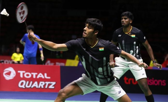 Fuzhou China Open 2019 : Satwik/Chirag, Ganda Putra India Kembali Dipertemukan Dengan Kevin/Marcus