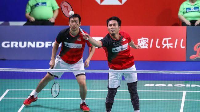 Fuzhou China Open 2019 : Ahsan/Hendra Kontra Tiongkok Buat Suporter Jantungan