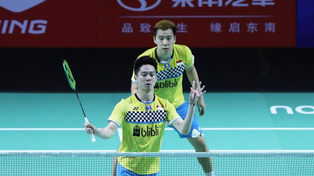 Fuzhou China Open 2019 : Marcus/Kevin Kembali Menantang Wakil Jepang, Kamura/Sonoda Di Babak Final