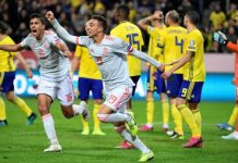สวีเดน 1-1 สเปน