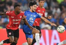 เมืองทอง ยูไนเต็ด 0-2 ชลบุรี เอฟซี