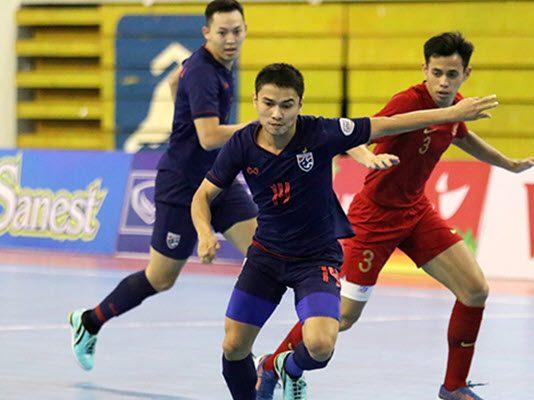 ทีมชาติไทย 5-0 ทีมชาติอินโดนีเซีย