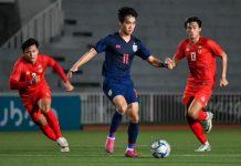 ทีมชาติไทย 3-2 ทีมชาติเมียนมาร์