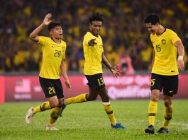 มาเลเซีย 2-1 ทีมชาติไทย