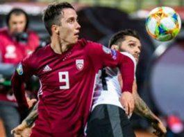 ลัตเวีย 1-0 ออสเตรีย