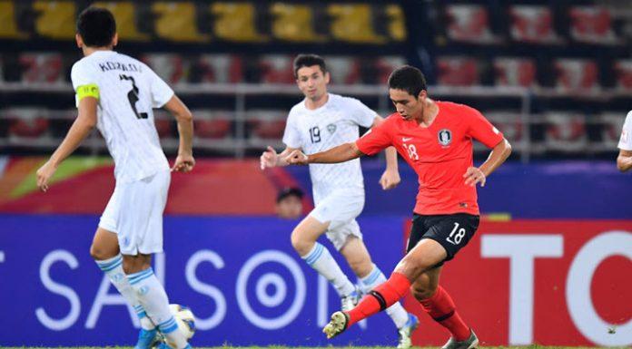 เกาหลีใต้ 2-1 จอร์แดน