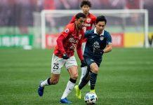 เซี่ยงไฮ้ เอสไอพีจี 3-0 บุรีรัมย์ ยูไนเต็ด