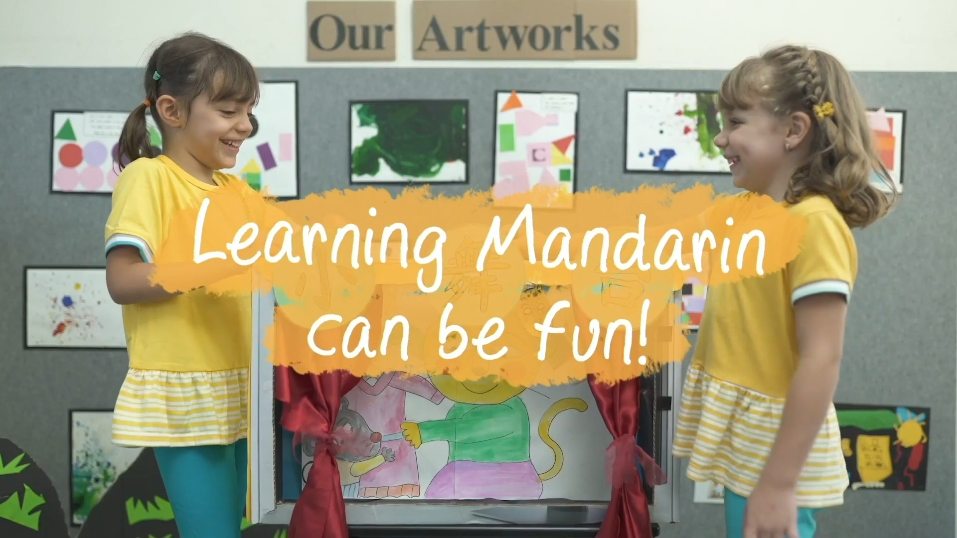 Mandarin as a second language!