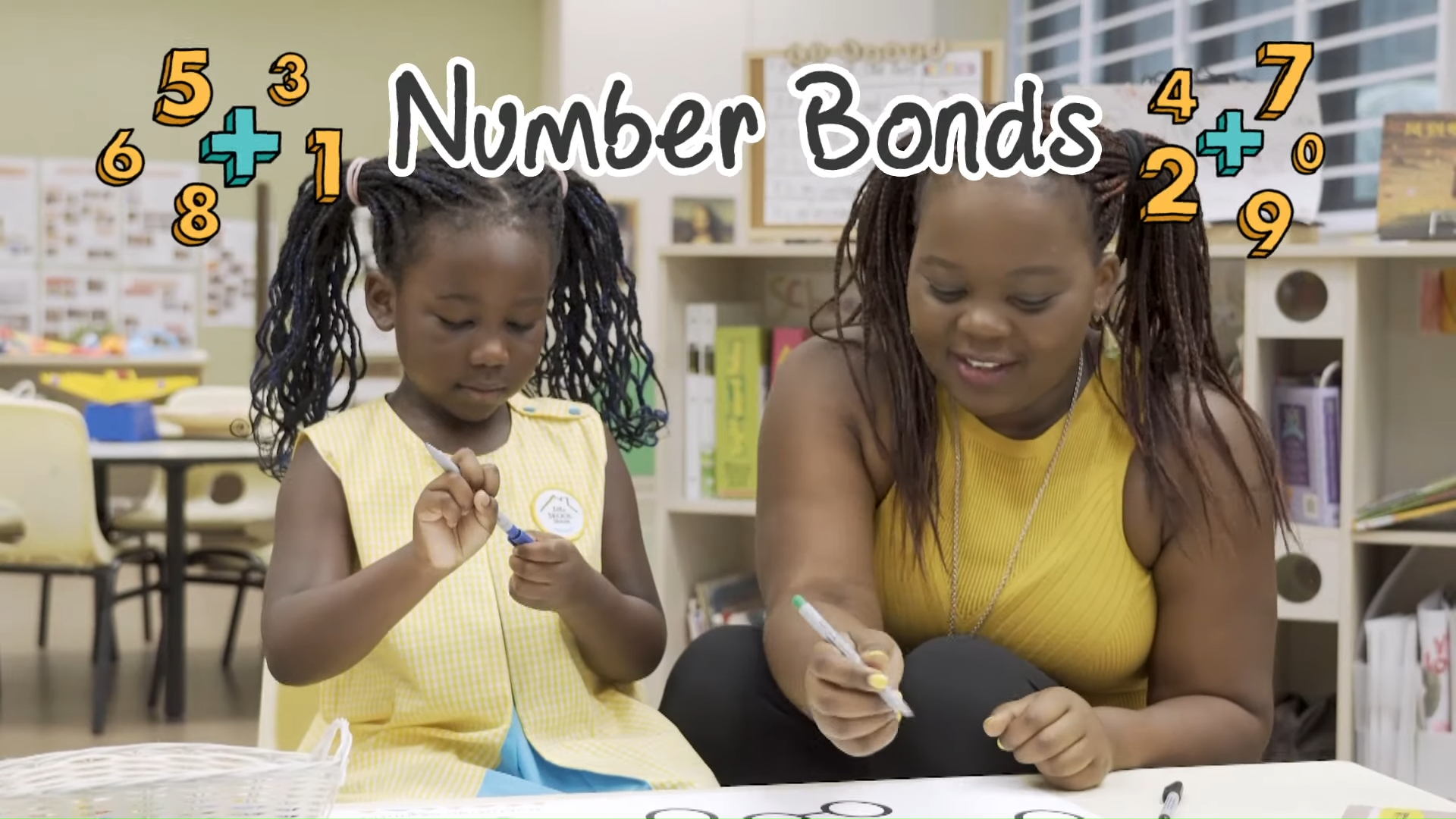 Developing children's love for numbers