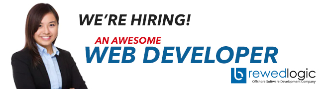 Web Developer from BrewedLogic Inc.