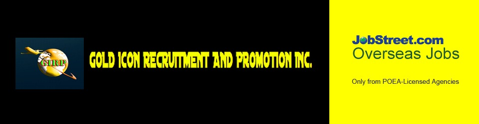 GOLD ICON RECRUITMENT AND PROMOTION, INC from Al Khobar is Looking
