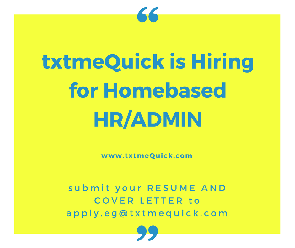 Hr Personnel from txtmequick