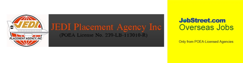 JEDI PLACEMENT AGENCY INCORPORATED from Oman is Looking for a OFFICE