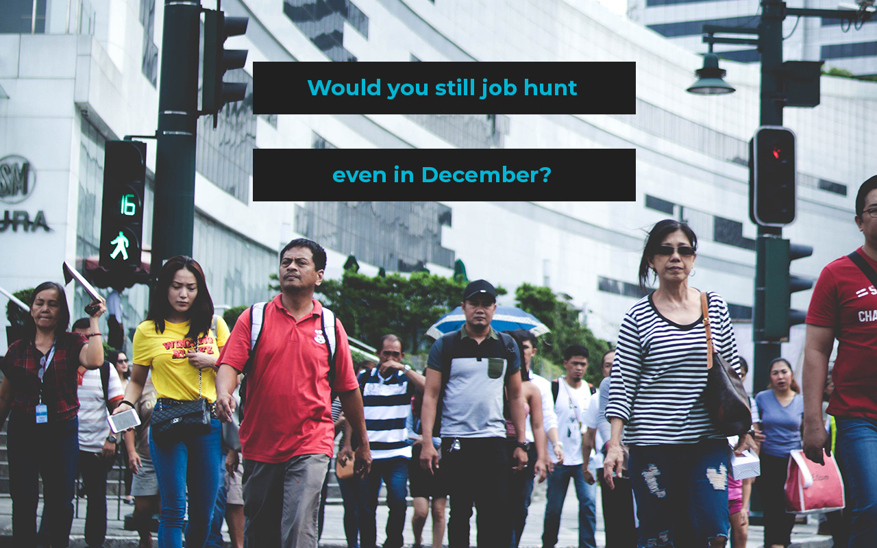 Benefits of Looking for a Job in December Image