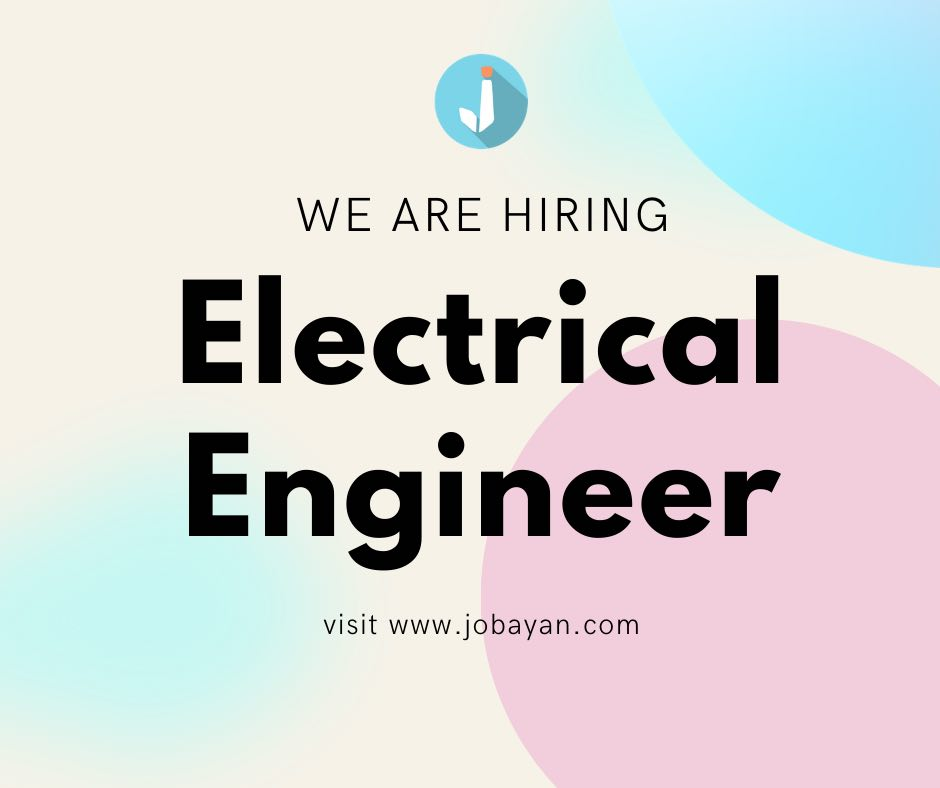 Electrical Engineer from Sterling Paper Group of Companies