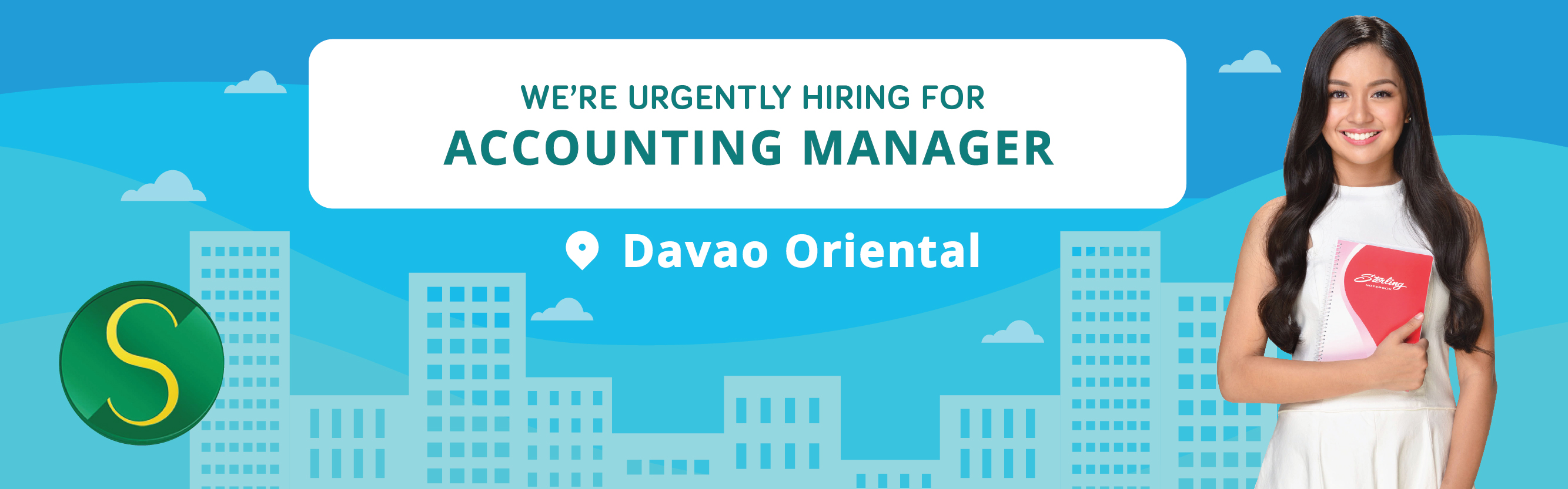 Accounting Manager (davao Oriental) from Sterling Paper Group of Companies