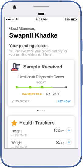 Patient App for Personal Health Records
