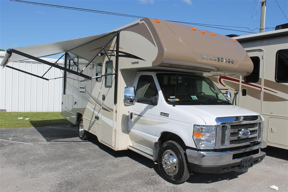 2016 Winnebago 22r Motor Home Class C Rental In Holiday