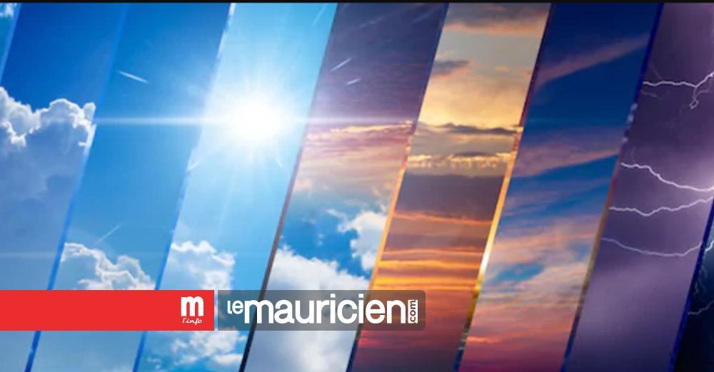Découvrez la météo du lundi 2 novembre - Le Mauricien