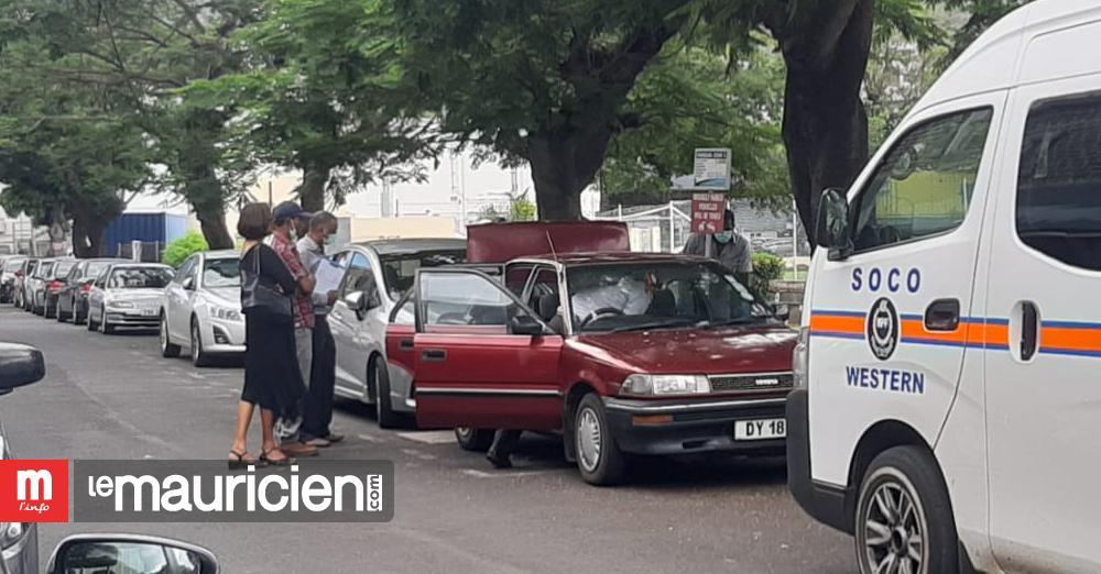 Telfaire Saga : la voiture de Preetam Matadeen examinée par la police - Le Mauricien