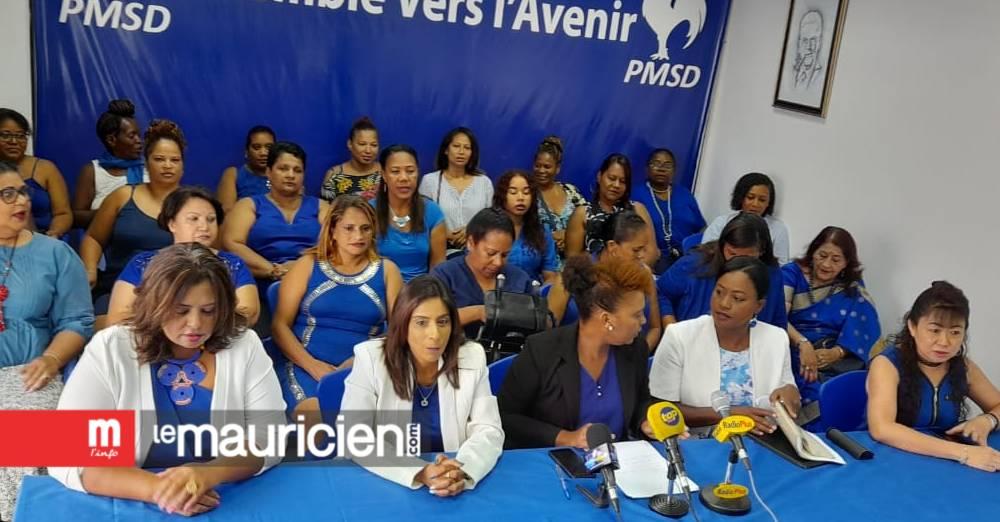 L'aile féminine du PMSD demande aux femmes parlementaires du GM de se ressaisir - Le Mauricien