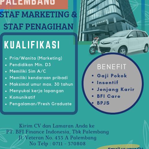 PT. BFI Finance Indonesia Tbk Cab. Palembang