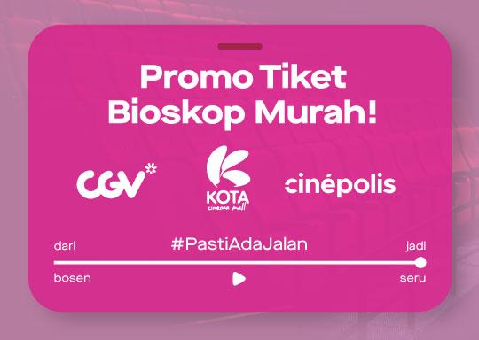 Promo Tiket Bioskop Murah GoTix Harbolnas