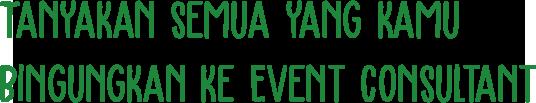Event Bukber di Loket