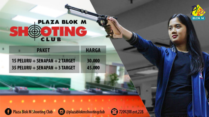 SHOOTING RANGE At PLAZA BLOK M SHOOTING CLUB - Background