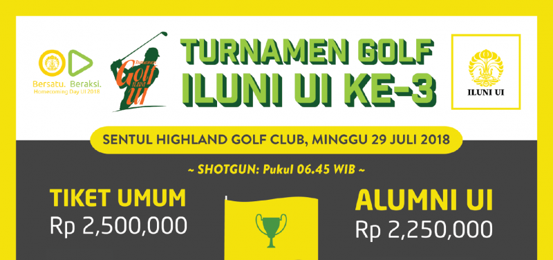 TURNAMEN GOLF ILUNI UI KE-3 ILUNI UI - LOKET on