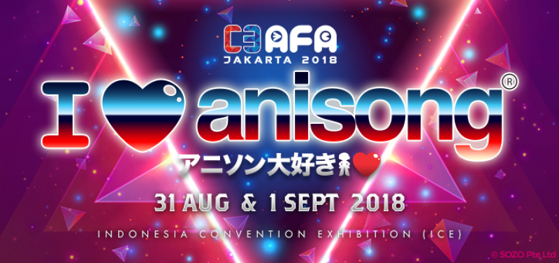 C3AFA 2018 - Anime Festival Asia Jakarta 2018 - Background