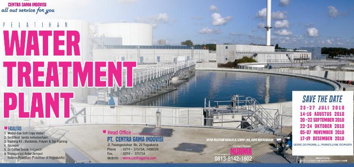 Jual Tiket Pelatihan Water Treatment Plant | Loket com