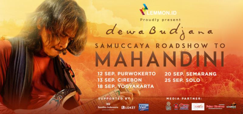 Dewa Budjana Samuccaya Roadshow to Mahandini (Purwokerto)