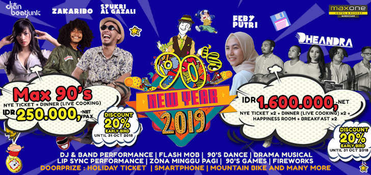 New Year 2019 - Maxone 90s