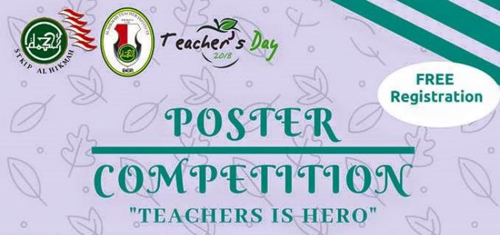 Jual Tiket Lomba Desain Poster Hari Guru Nasional 2018 Loket Com