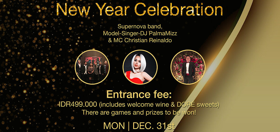 New Year 2019 Celebration at Motion Blue Jakarta