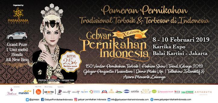 Gebyar Pernikahan Indonesia X Edition