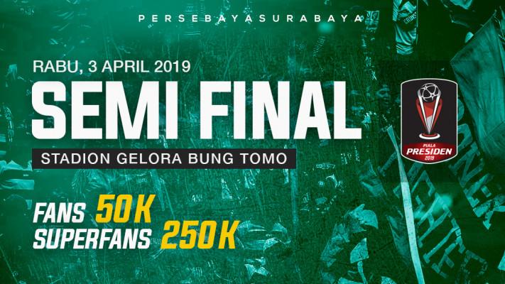 Jual Tiket Persebaya Surabaya Semifinal Piala Presiden Loket Com