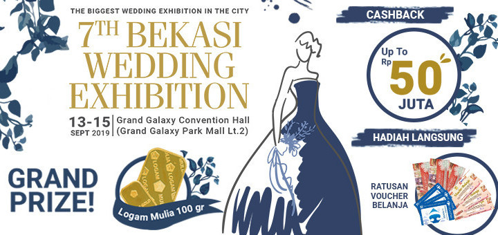 Bekasi Wedding Exhibition 7th - Background
