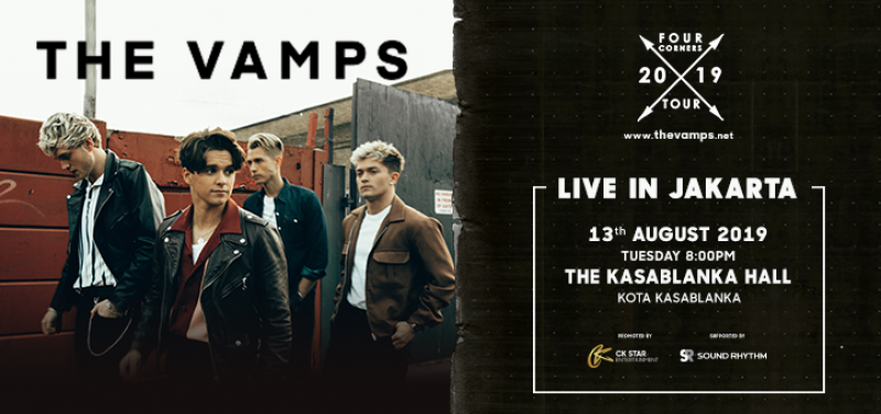 The Vamps Four Corners Tour 2019 Live in Jakarta