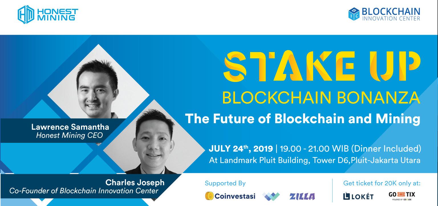 STAKE UP! Blockchain Bonanza