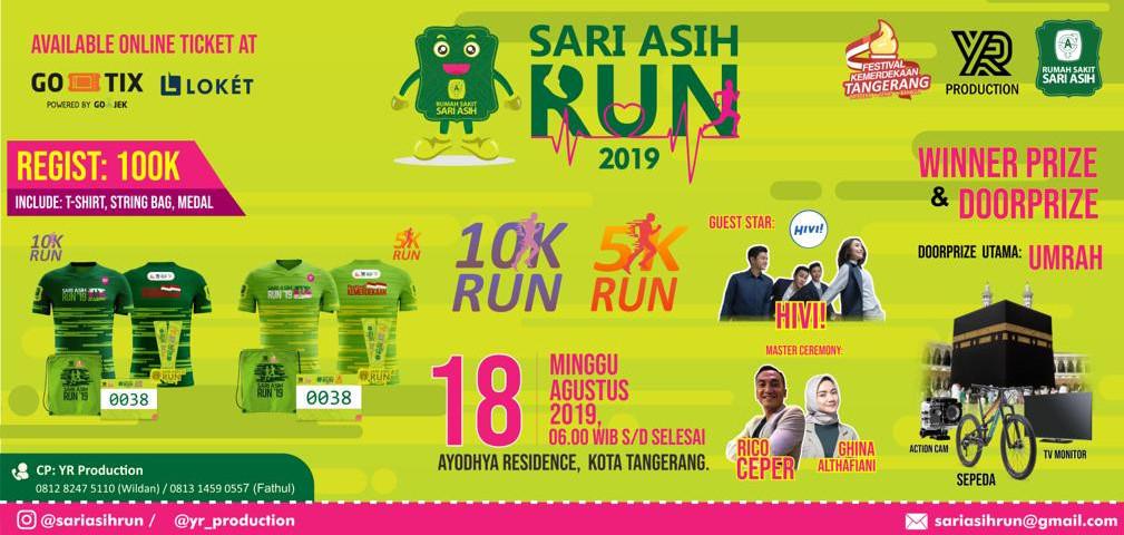 Sari Asih Run 2019
