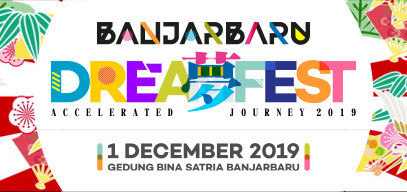 Banjarbaru Dream Fest - Accelerated Journey 2019 - Background