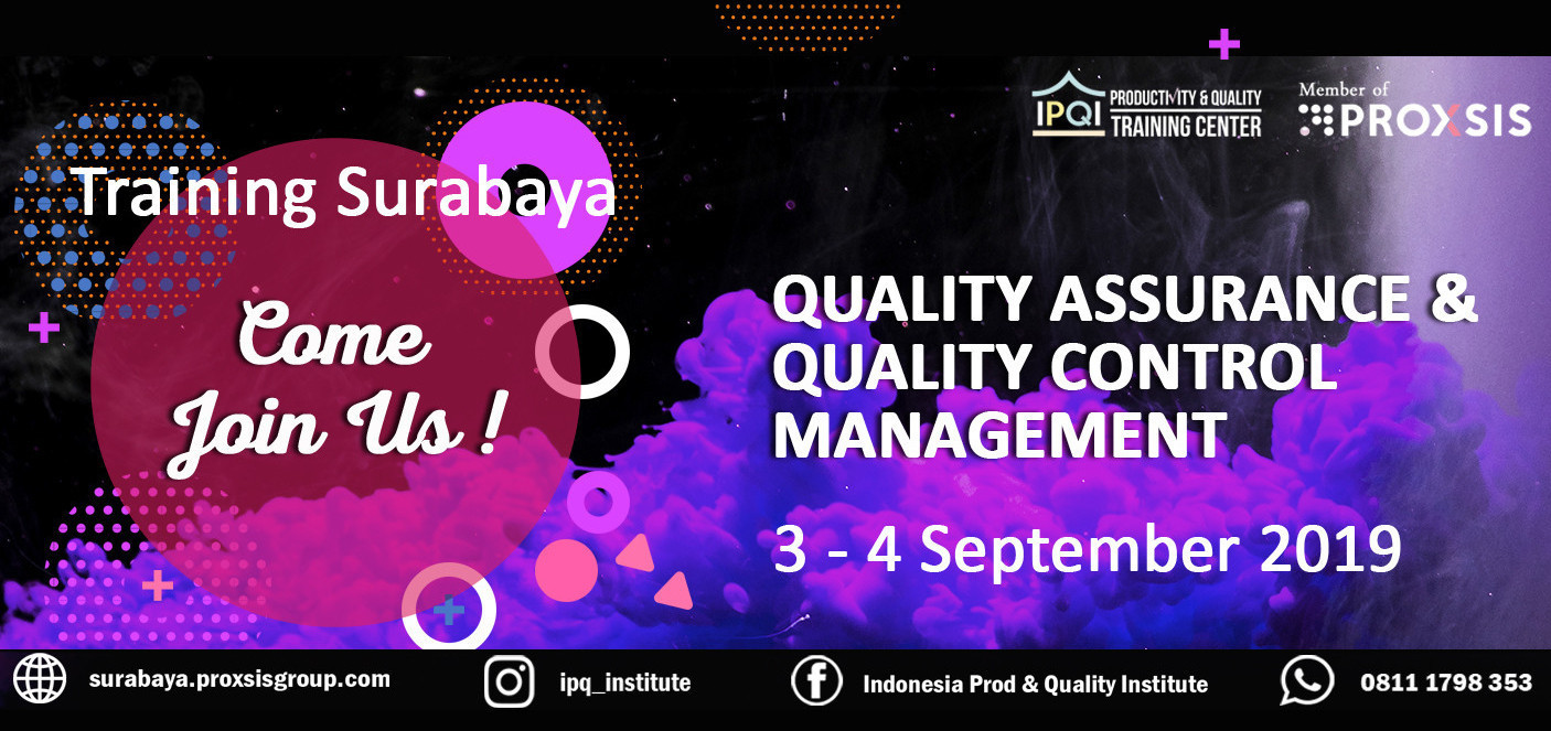 Quality Assurance & Quality Control Management - Background