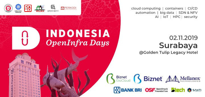The Indonesia Open Infrastructure Day 2019