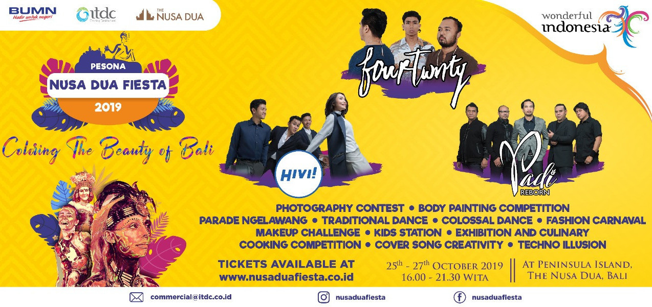 Pesona Nusa Dua Fiesta 2019