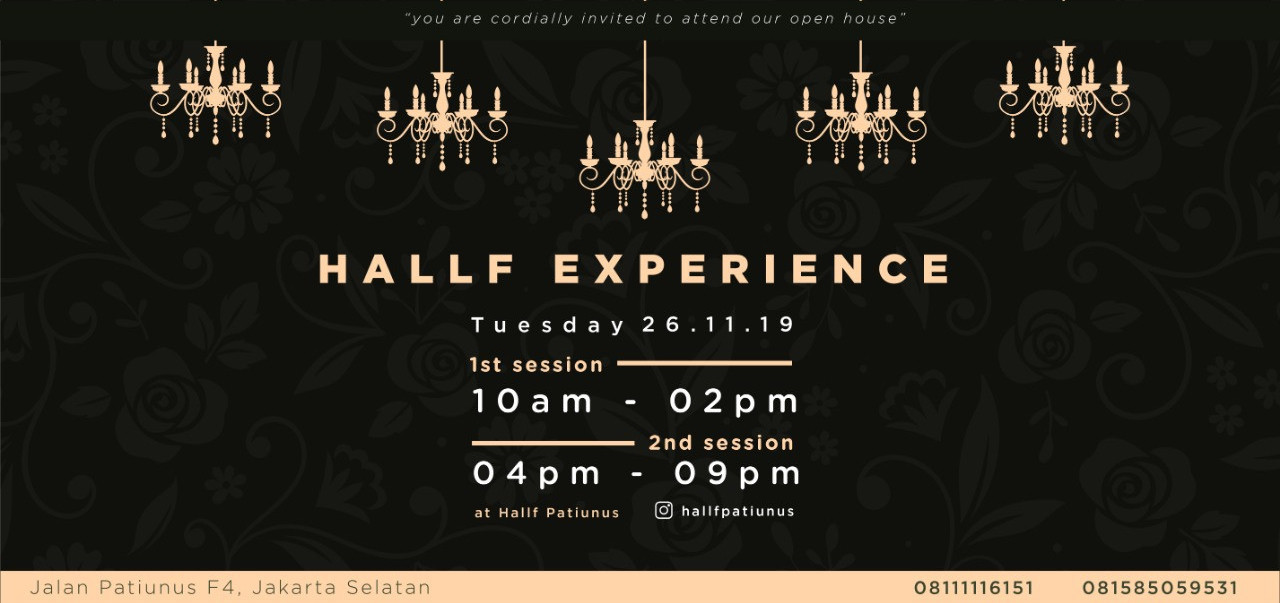 Hallf Experience Session 2