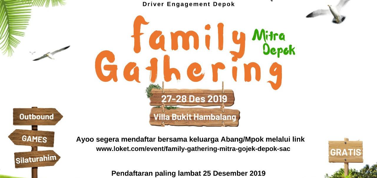 Family Gathering Mitra Gojek Depok | Loket.com